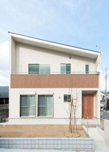 千葉県旭市の二階リビング注文住宅
