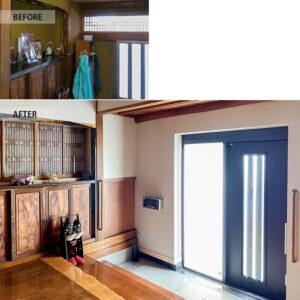 香取郡の玄関リフォーム