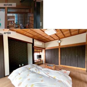 香取郡の寝室リフォーム