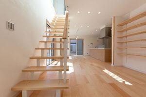 千葉県香取市の二階建て住宅